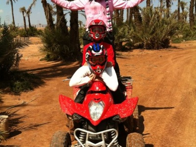 quad Marrakech palmeraie, excursion quad Marrakech,